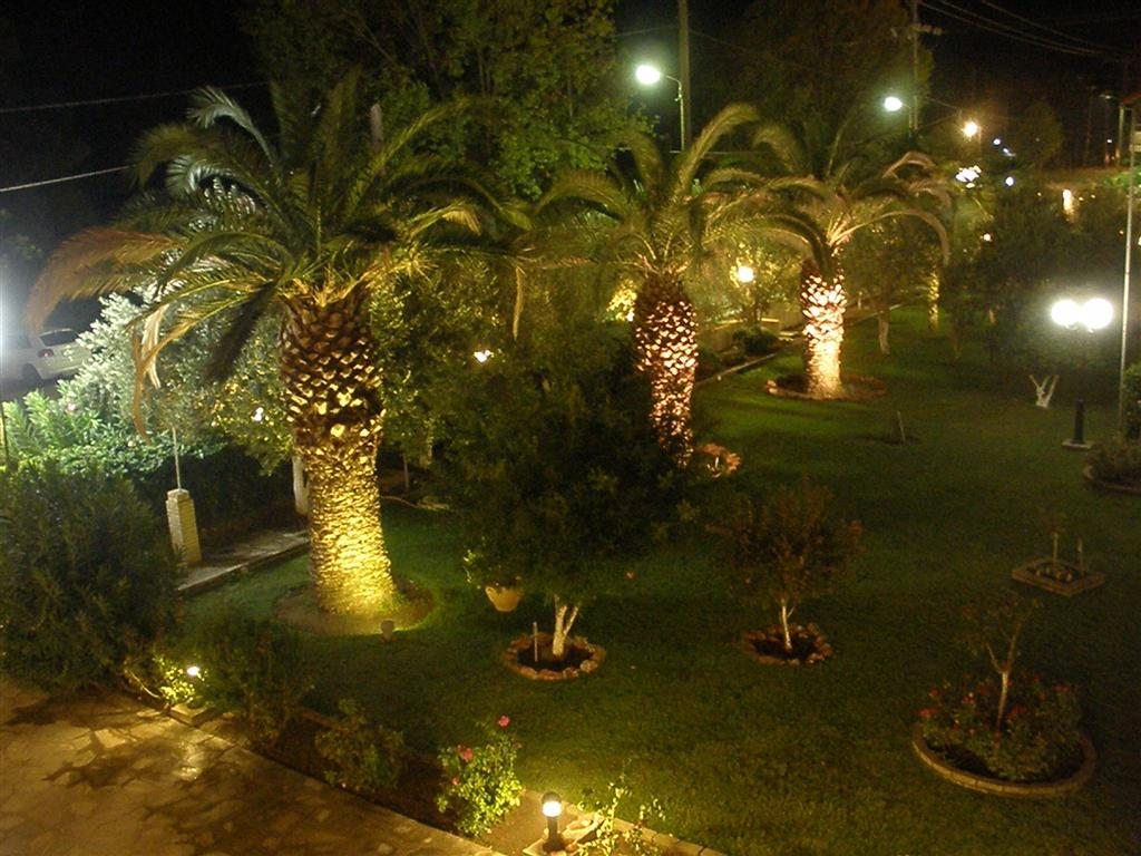 Another Night view of the Hotel garden